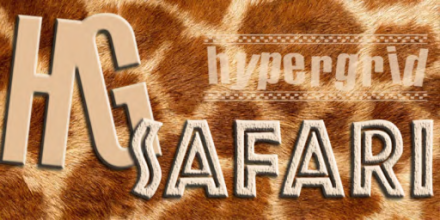 HG safari flag  banner